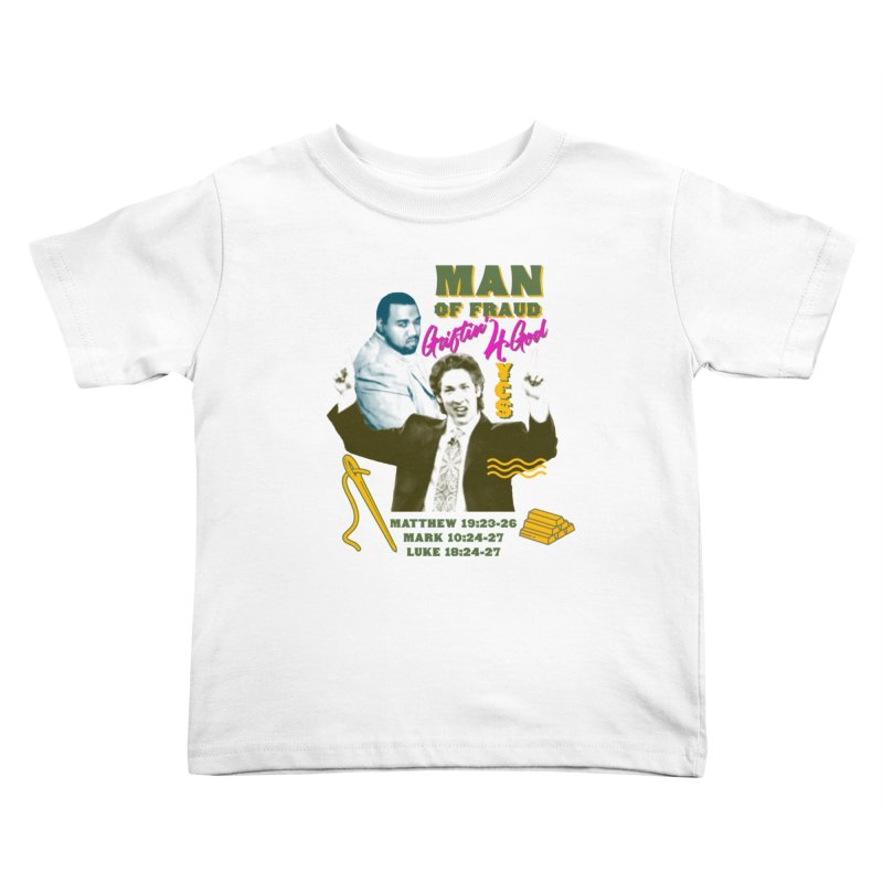 Man of Fraud Kids Toddler T-Shirt by FWMJ's Shop