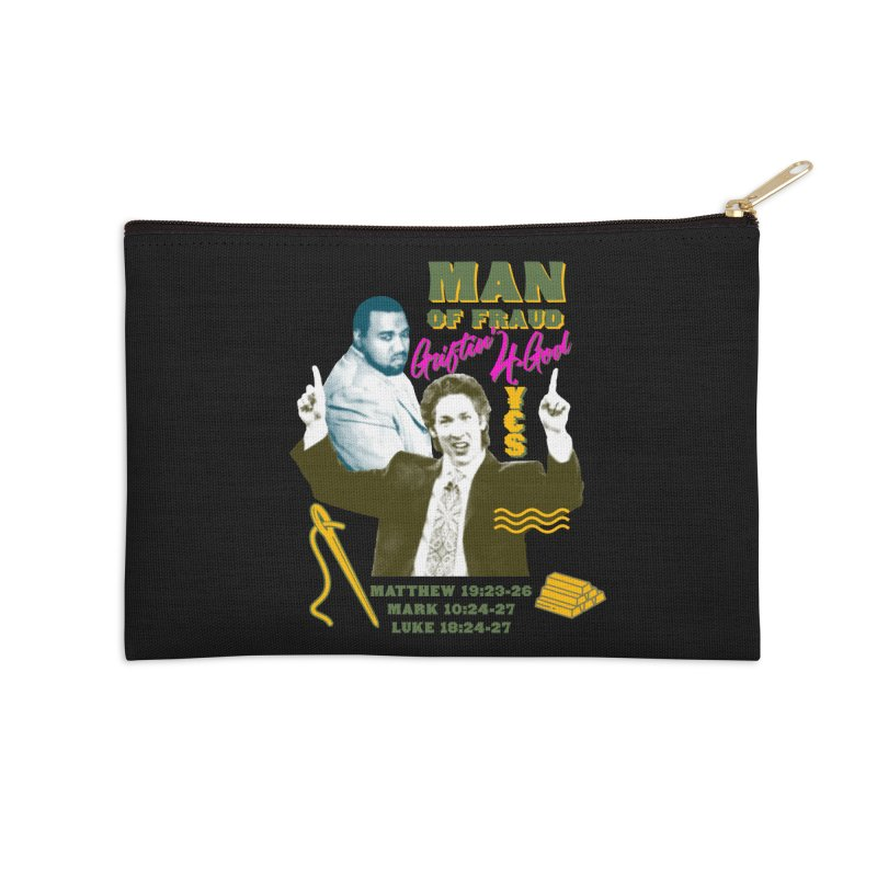 Man of Fraud Accessories Zip Pouch by FWMJ's Shop