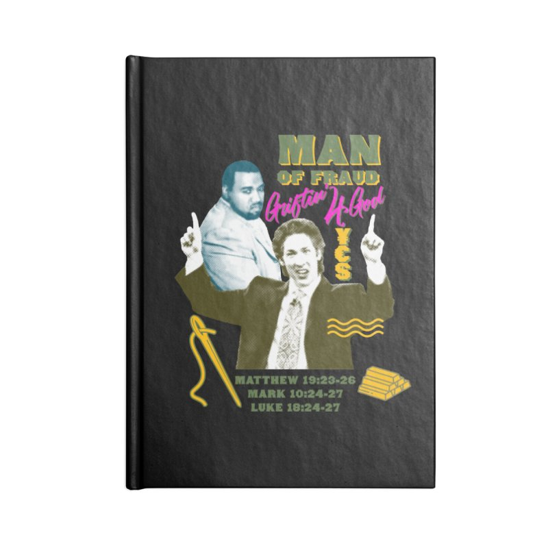 Man of Fraud Accessories Blank Journal Notebook by FWMJ's Shop