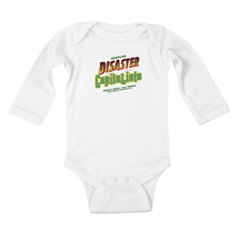 Babylon Ting Kids Baby Longsleeve Bodysuit by FWMJ's Shop