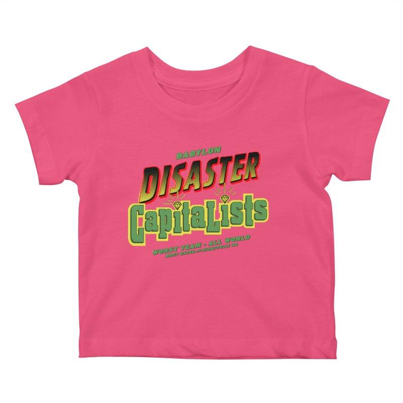 Babylon Ting Kids Baby T-Shirt by FWMJ's Shop