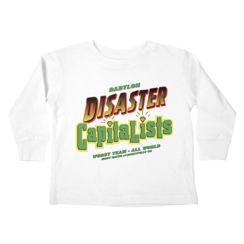 Babylon Ting Kids Toddler Longsleeve T-Shirt by FWMJ's Shop