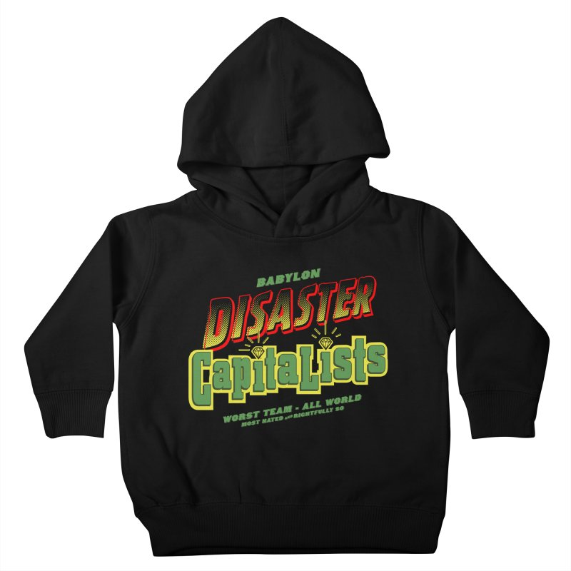Babylon Ting Kids Toddler Pullover Hoody by FWMJ's Shop