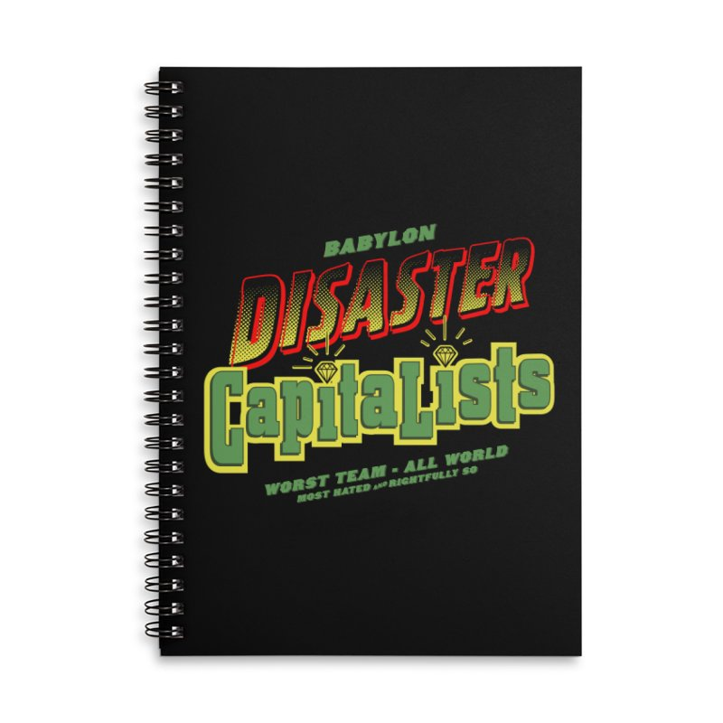 Babylon Ting Accessories Lined Spiral Notebook by FWMJ's Shop