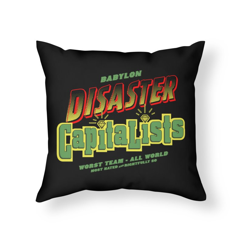 Babylon Ting Home Throw Pillow by FWMJ's Shop