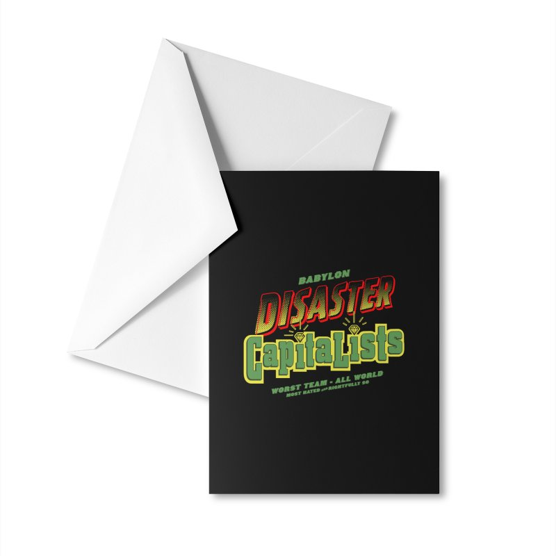Babylon Ting Accessories Greeting Card by FWMJ's Shop