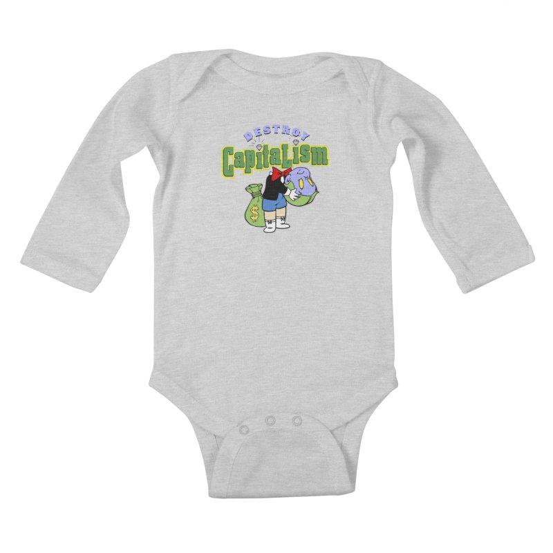Build and Destroy Kids Baby Longsleeve Bodysuit by FWMJ's Shop