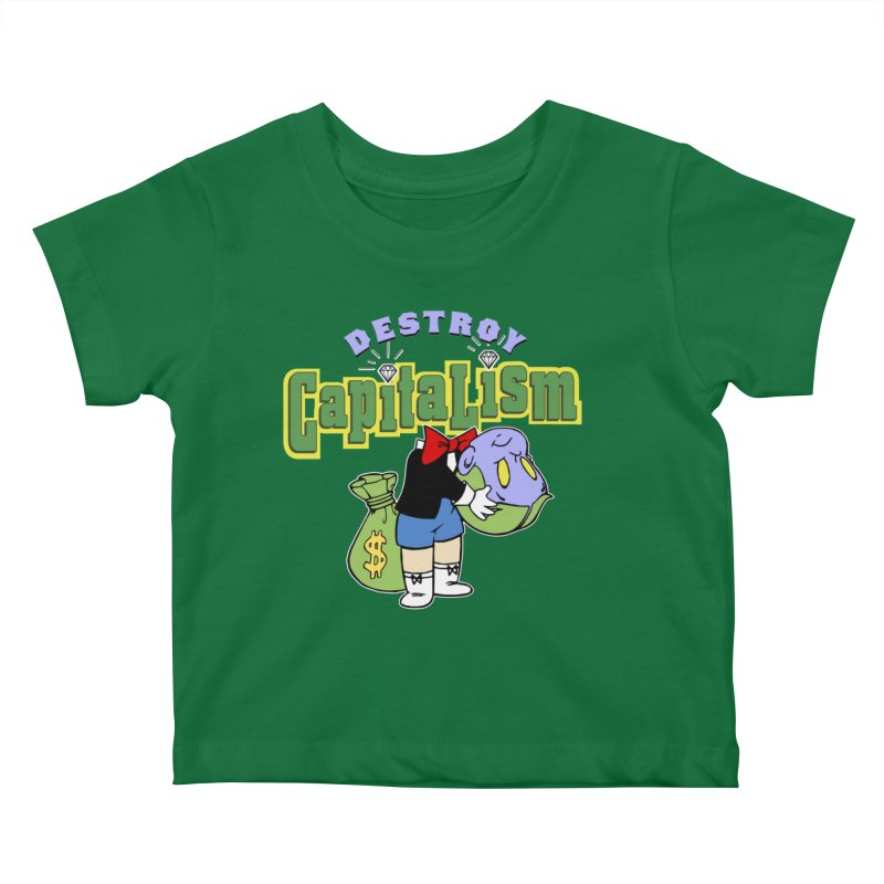Build and Destroy Kids Baby T-Shirt by FWMJ's Shop