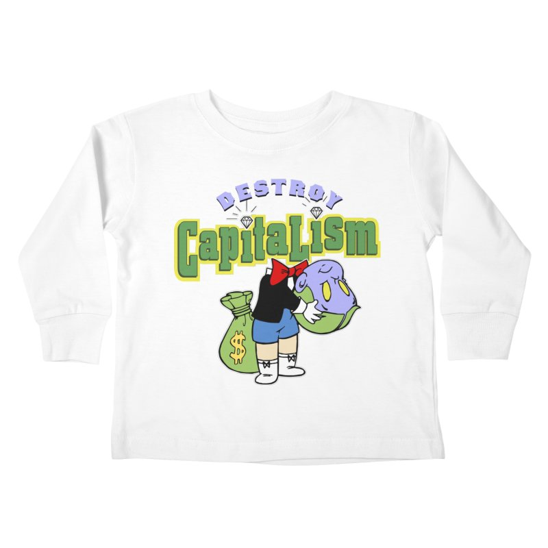 Build and Destroy Kids Toddler Longsleeve T-Shirt by FWMJ's Shop