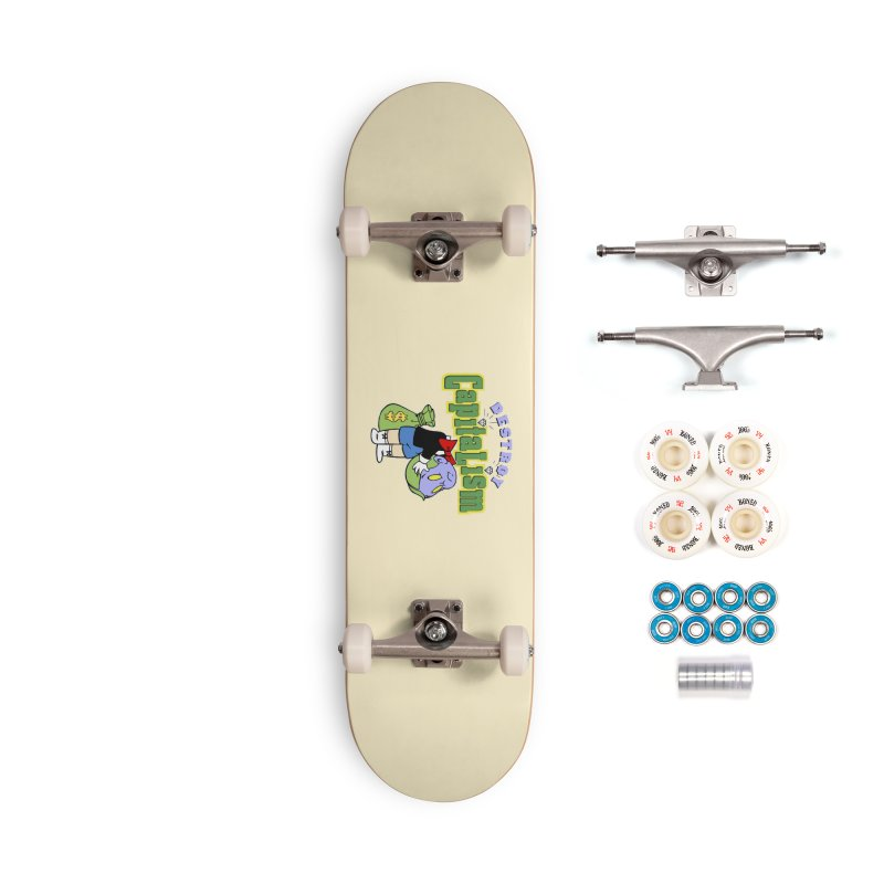 Build and Destroy Accessories Complete - Premium Skateboard by FWMJ's Shop