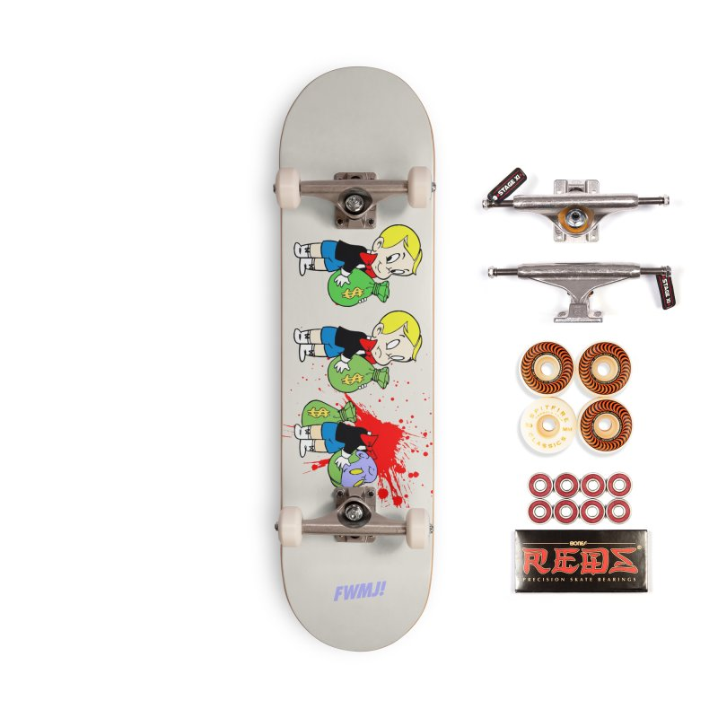 Build and Destroy Accessories Skateboard by FWMJ's Shop