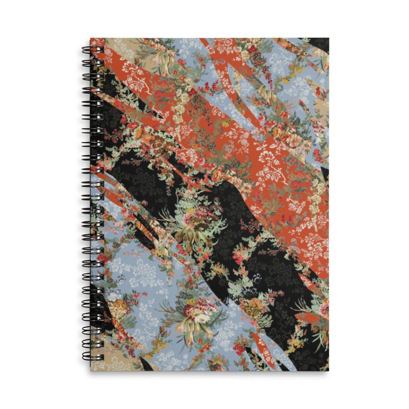 SS20 № 2.0 Accessories Lined Spiral Notebook by FWMJ's Shop
