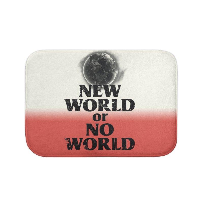 New World or No World Home Bath Mat by FWMJ's Shop