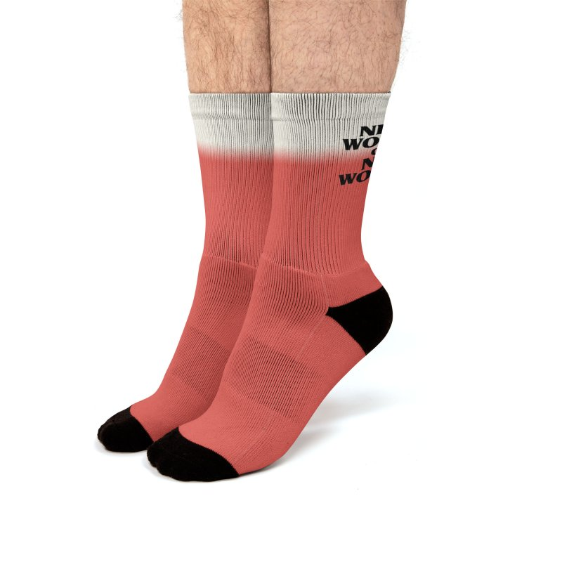 New World or No World Men's Socks by FWMJ's Shop