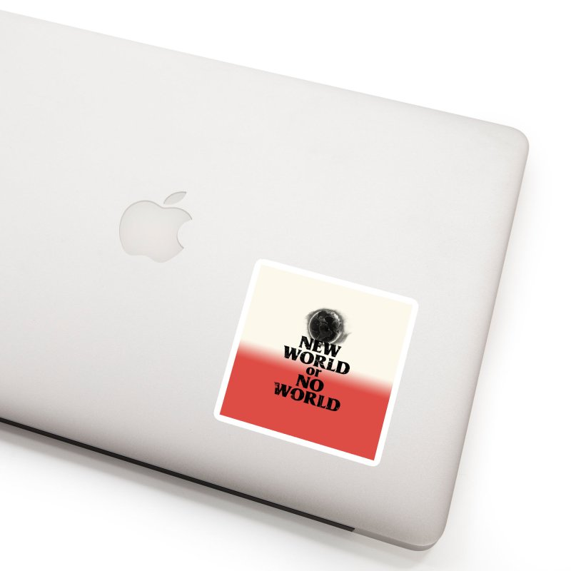 New World or No World Accessories Sticker by FWMJ's Shop