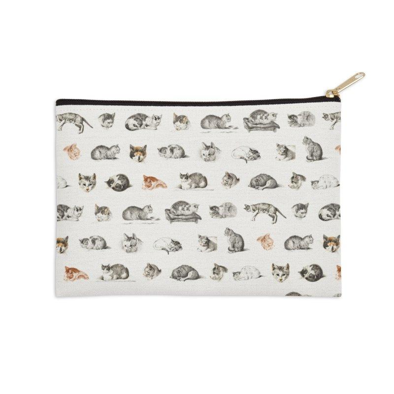 Rap Game Cat Lady № 2 Accessories Zip Pouch by FWMJ's Shop