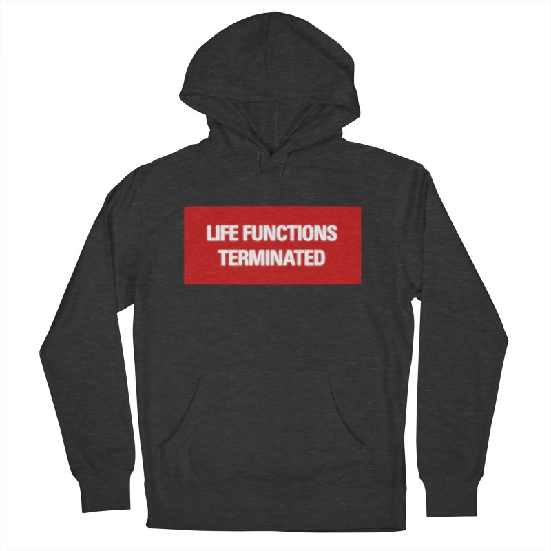 Terminated in Men's Pullover Hoody Smoke by FWMJ's Shop