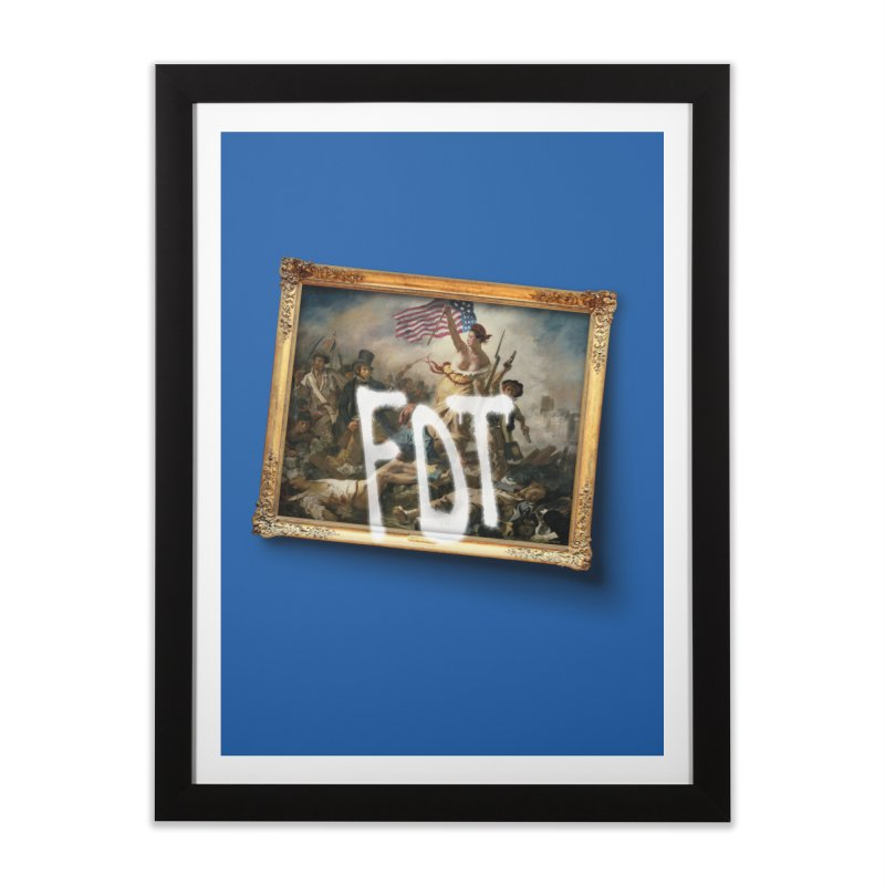 Líbrame del Mal in Framed Fine Art Print Black by FWMJ's Shop