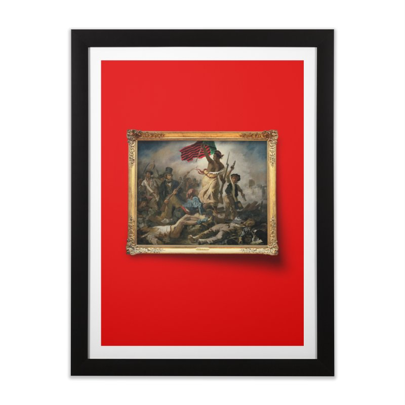 Libération des Noirs in Framed Fine Art Print Black by FWMJ's Shop