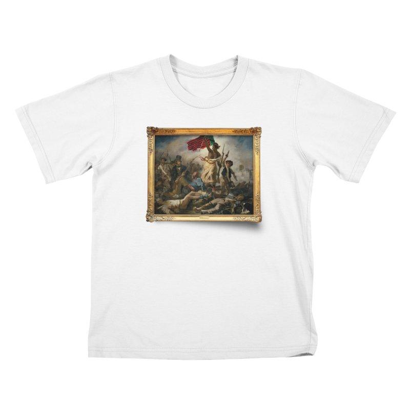 Libération des Noirs Kids T-Shirt by FWMJ's Shop