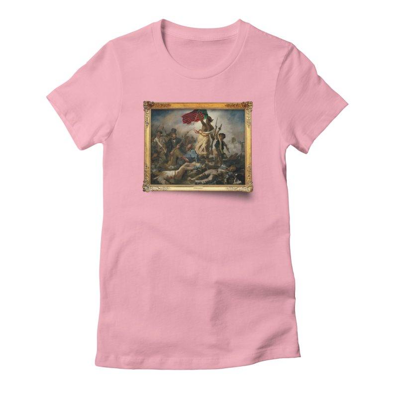 Libération des Noirs Women's Fitted T-Shirt by FWMJ's Shop