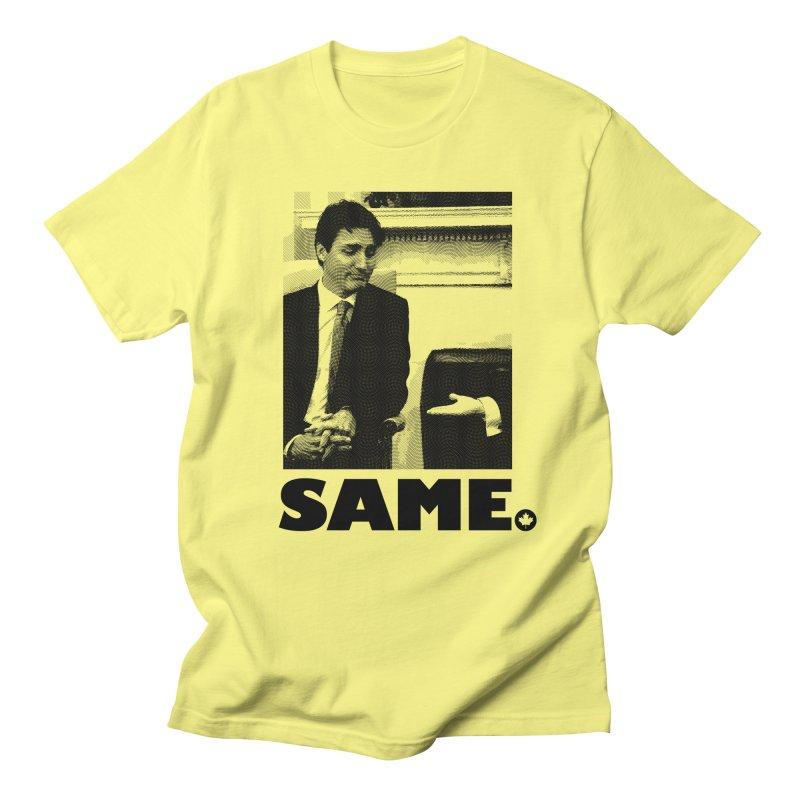 Same. (True-tho) in Men's T-shirt Lemon by FWMJ's Shop