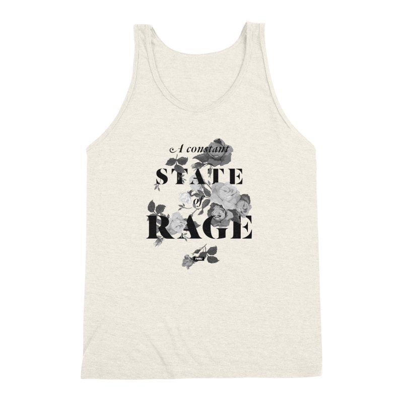 To Be Black and Conscious in America  Men's Triblend Tank by FWMJ's Shop
