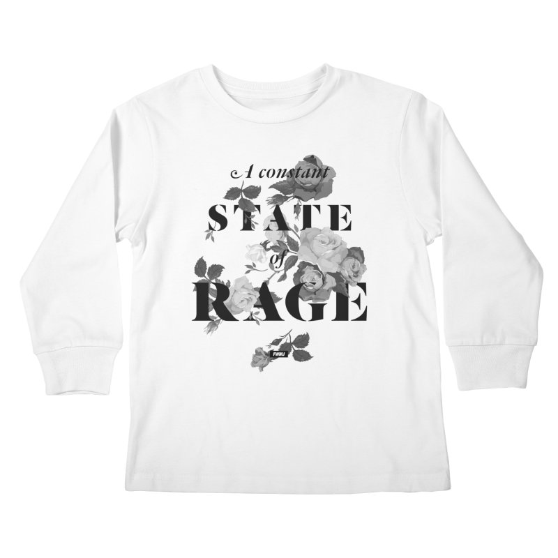 To Be Black and Conscious in America  Kids Longsleeve T-Shirt by FWMJ's Shop