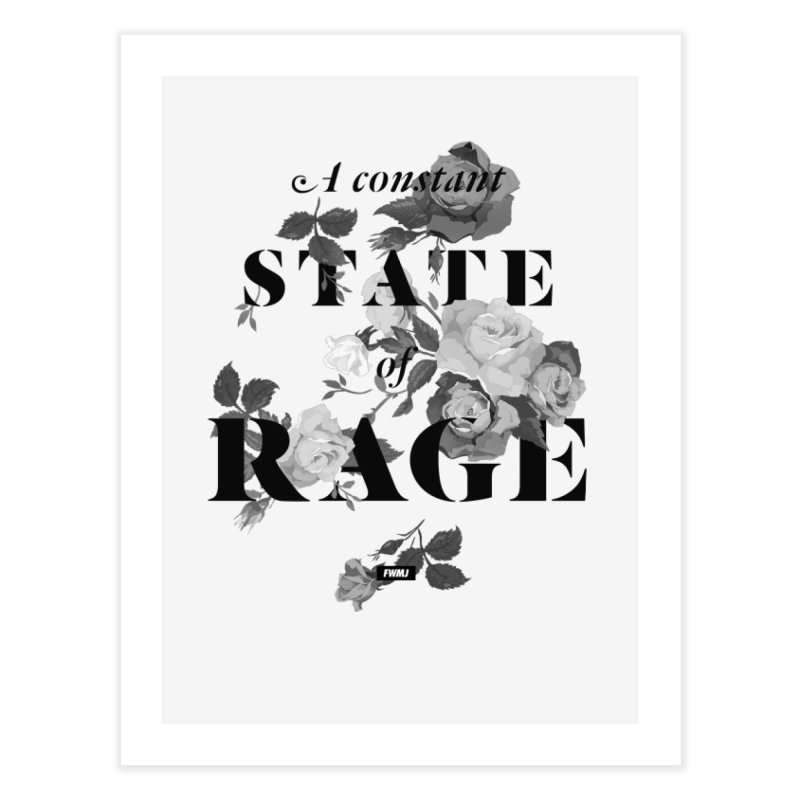 To Be Black and Conscious in America  Home Fine Art Print by FWMJ's Shop