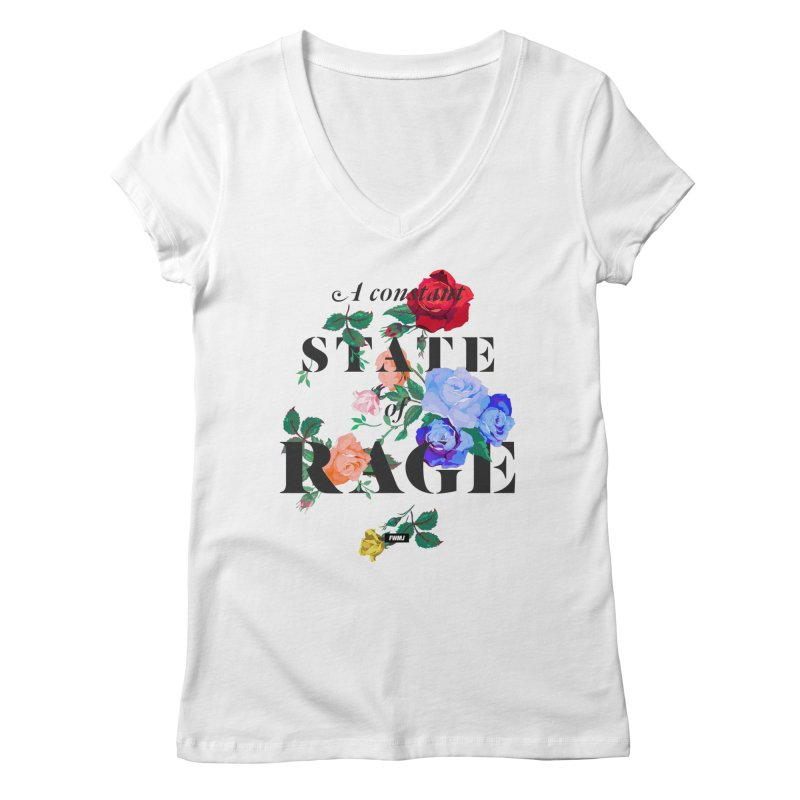 To Be Black and Conscious in America. Women's Regular V-Neck by FWMJ's Shop