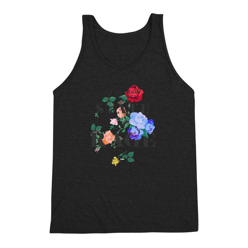 To Be Black and Conscious in America. Men's Triblend Tank by FWMJ's Shop