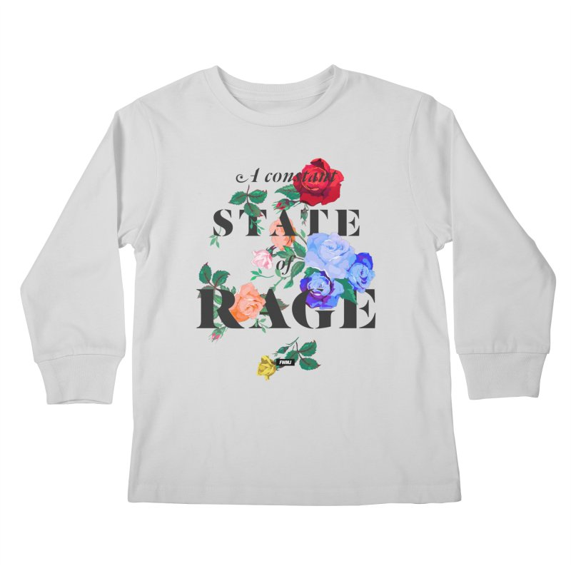 To Be Black and Conscious in America. Kids Longsleeve T-Shirt by FWMJ's Shop