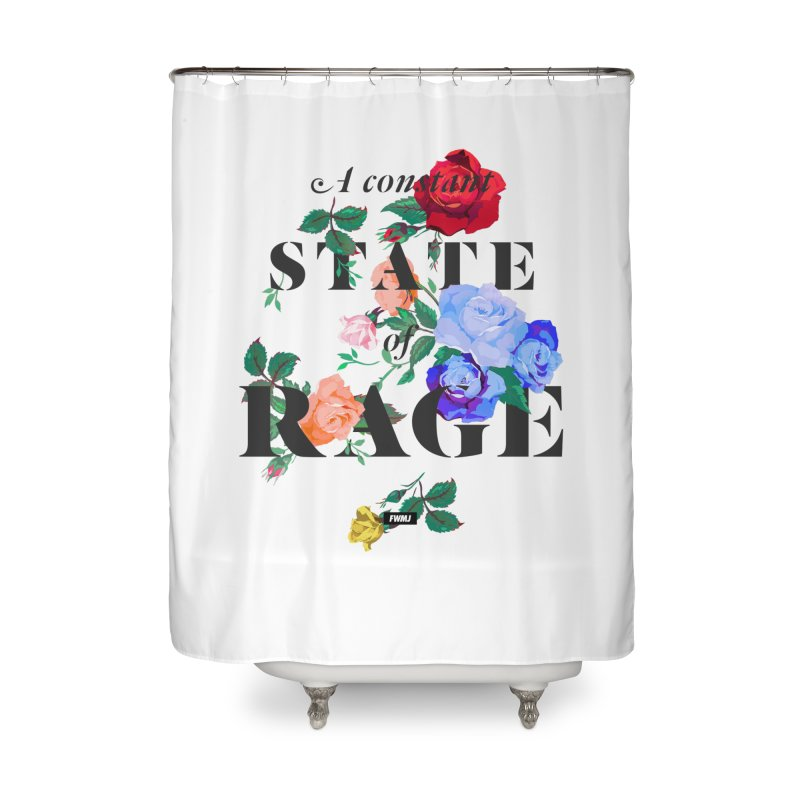 To Be Black and Conscious in America. Home Shower Curtain by FWMJ's Shop