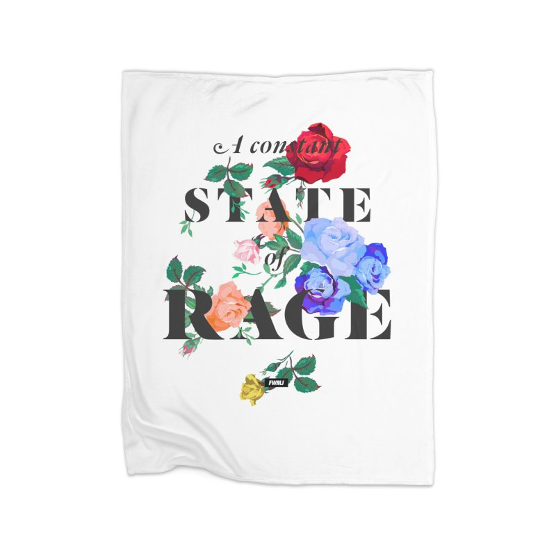 To Be Black and Conscious in America. Home Fleece Blanket Blanket by FWMJ's Shop