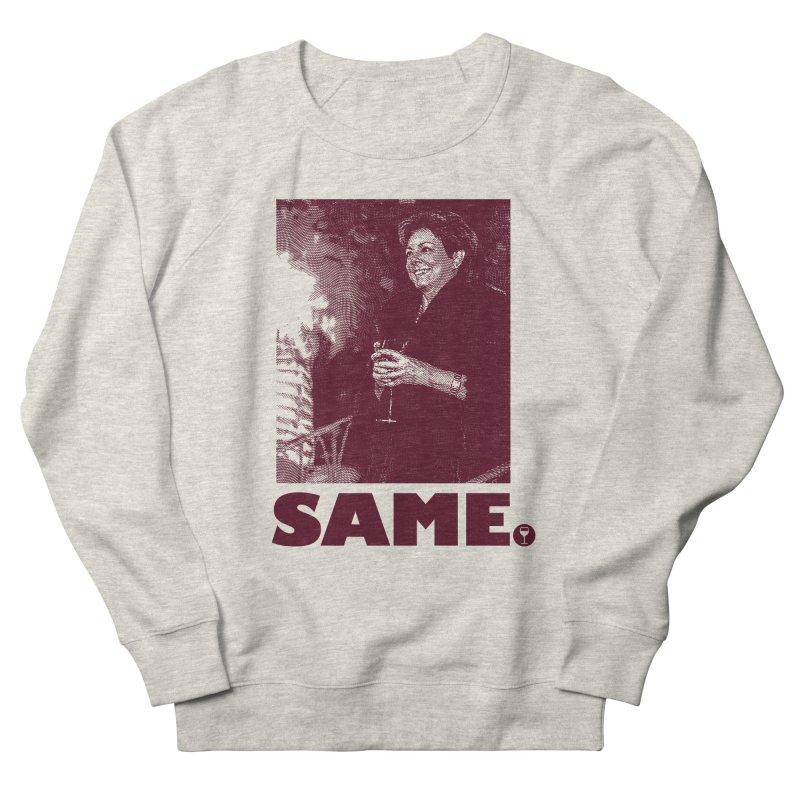 SAME. (Petty Boop) in Women's Sweatshirt Heather Oatmeal by FWMJ's Shop