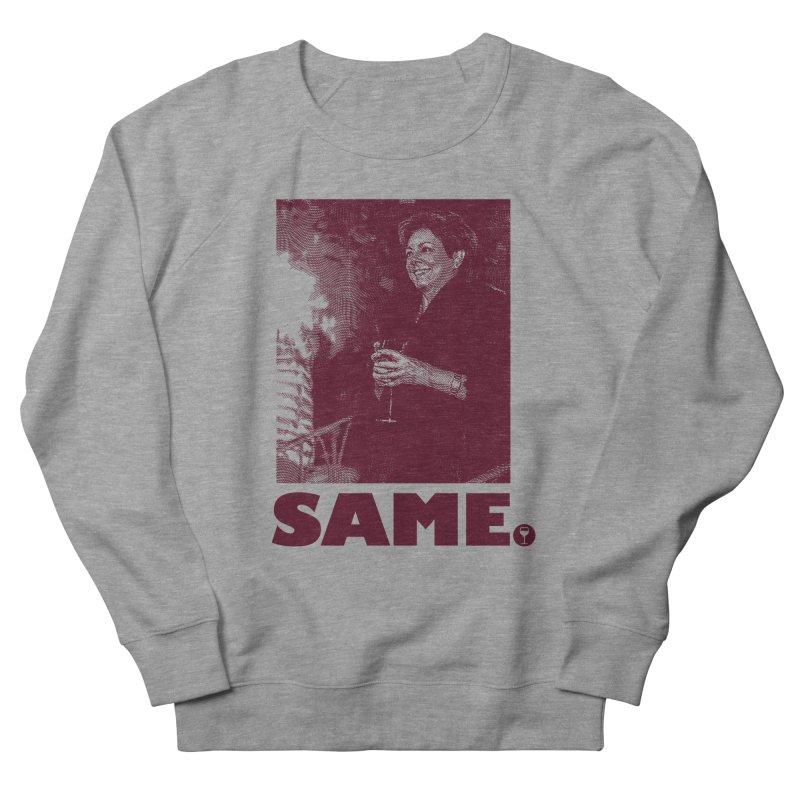 SAME. (Petty Boop) Men's French Terry Sweatshirt by FWMJ's Shop