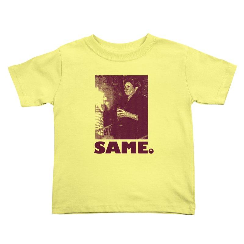 SAME. (Petty Boop) Kids Toddler T-Shirt by FWMJ's Shop