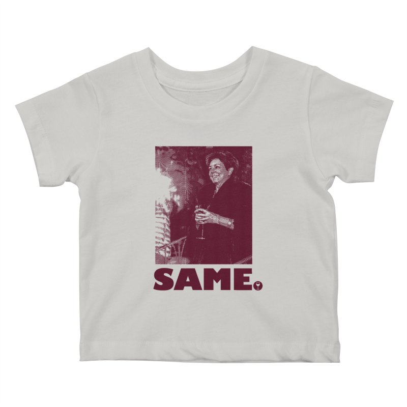 SAME. (Petty Boop) Kids Baby T-Shirt by FWMJ's Shop