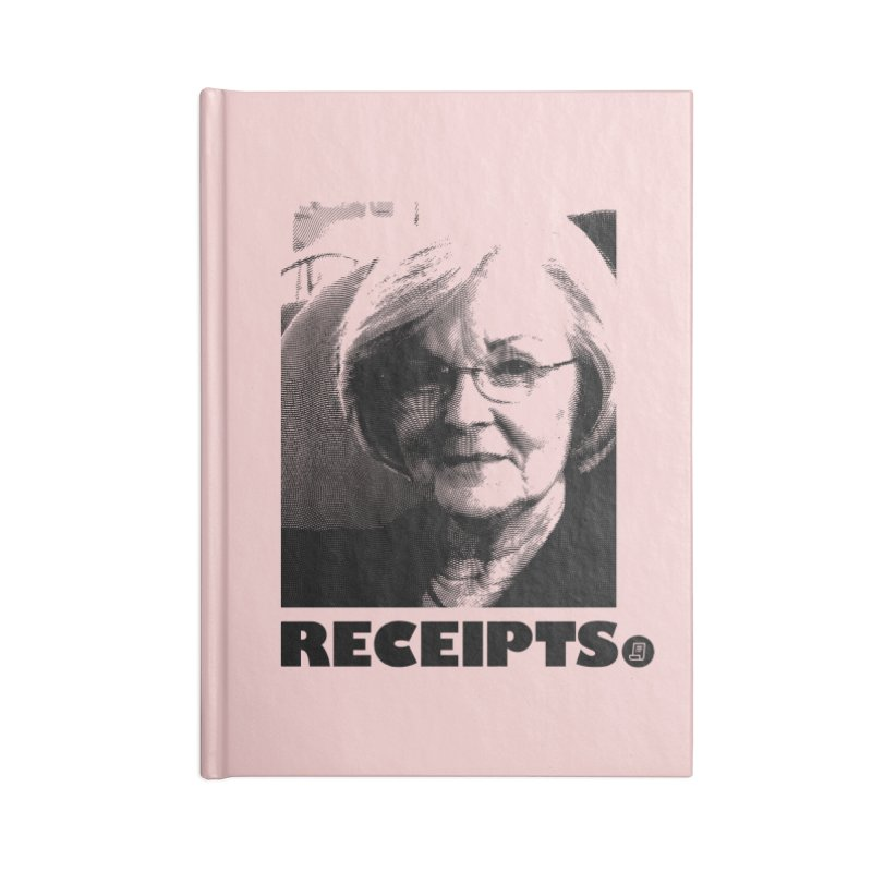 Receipts. Accessories Notebook by FWMJ's Shop