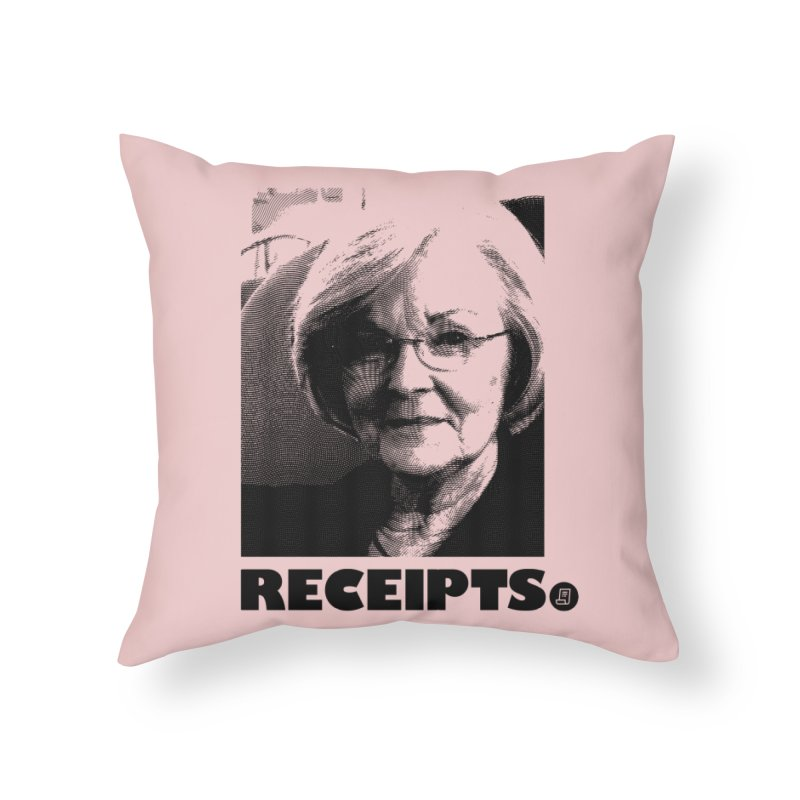 Receipts. Home Throw Pillow by FWMJ's Shop