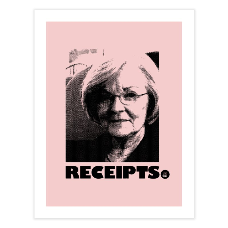 Receipts. Home Fine Art Print by FWMJ's Shop