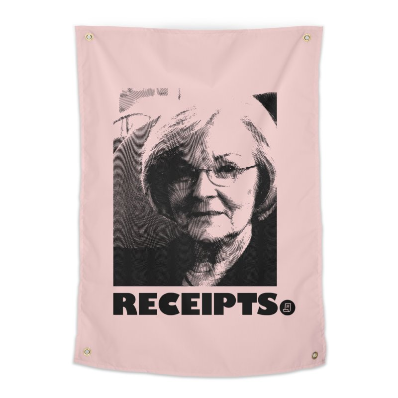Receipts. Home Tapestry by FWMJ's Shop