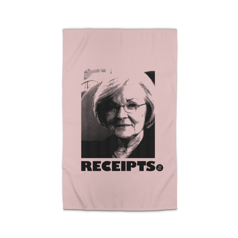 Receipts. Home Rug by FWMJ's Shop