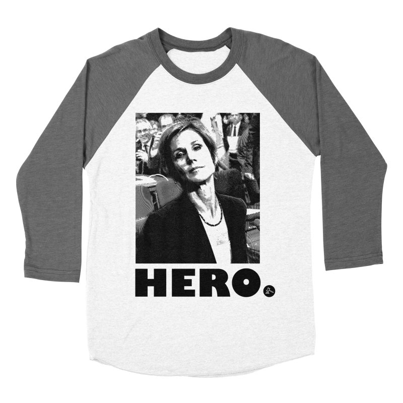Hero Women's Baseball Triblend T-Shirt by FWMJ's Shop