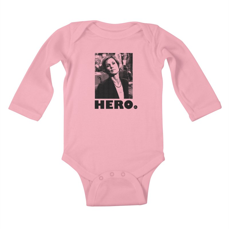 Hero Kids Baby Longsleeve Bodysuit by FWMJ's Shop