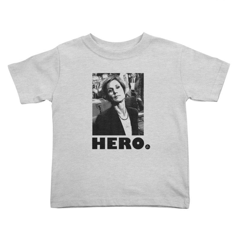 Hero Kids Toddler T-Shirt by FWMJ's Shop