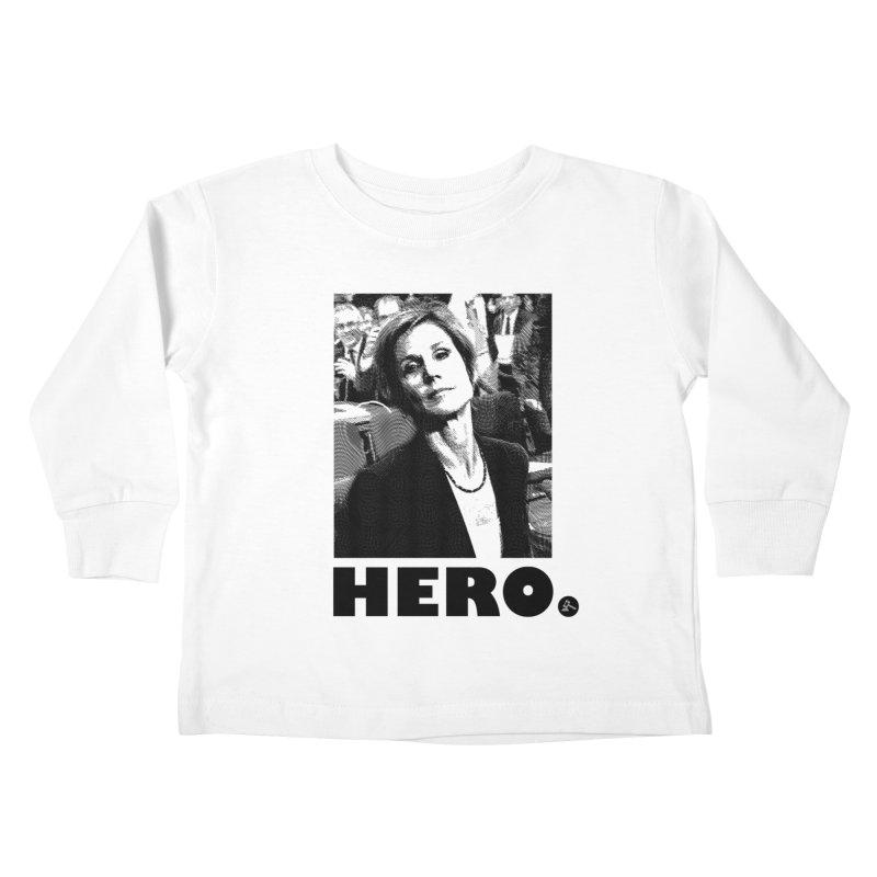Hero Kids Toddler Longsleeve T-Shirt by FWMJ's Shop
