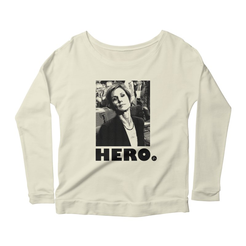 Hero Women's Longsleeve Scoopneck  by FWMJ's Shop
