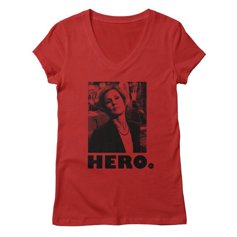 Hero Women's V-Neck by FWMJ's Shop