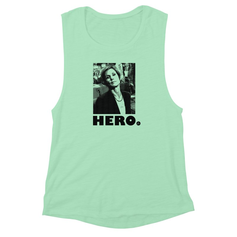 Hero Women's Muscle Tank by FWMJ's Shop